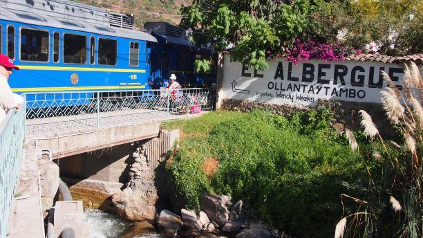 Ollantaytambo Train Station
