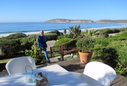 The patio at The Robberg