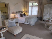 Spacious room with elegantly French decor. From Trip Advisor reviews we note that some eg. an attic? can be hot in summer. Weather cool but lovely when we were there.
