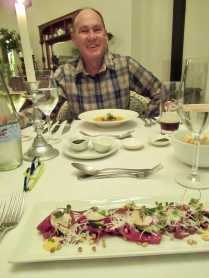 Dinner at Swellendam B&B