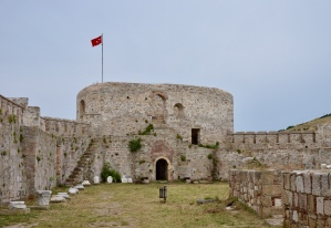 A closer view of ancient fort with an interesting history