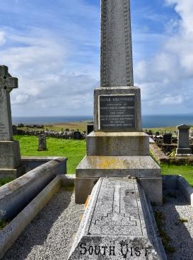 Isle of Skye...Flora MacDonald's grave