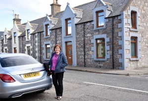 We hired a car for a self drive around Scottish Highlands