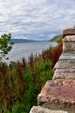 One of our favourite views as we walked around Loch Ness